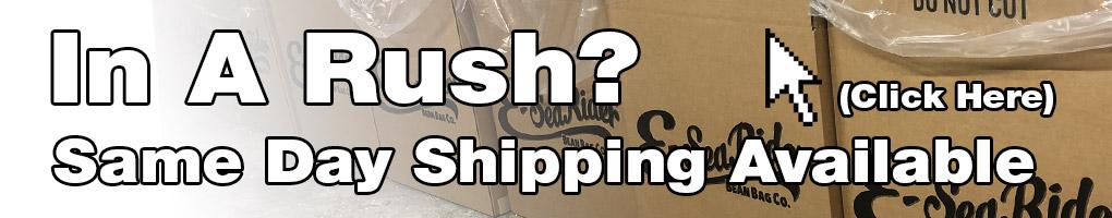 shipping info banner